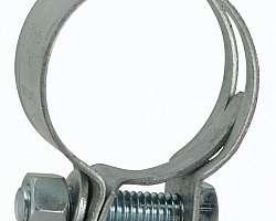 Abraçadeira para tubo soldável