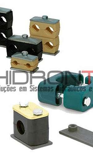 Abraçadeiras para tubos hidráulicos